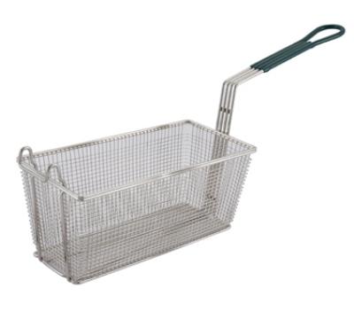 Winco FB-30 Half Size Fryer Basket, Steel