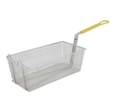 Winco FB-40 Half Size Fryer Basket, Steel