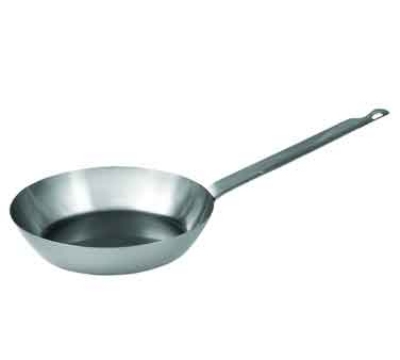 Winco FSFP-7 7.25-in French Style Fry Pan w/ Handle, Carbon Steel