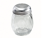 Winco G-108 Glass Cheese Shaker w/ Slotted Top