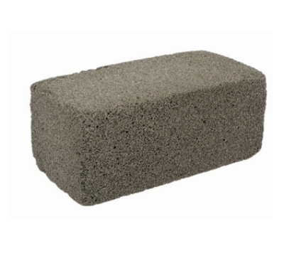 "Winco GBK-348 Grill Brick for #GBH-2, 3.5 x 4 x 8"""