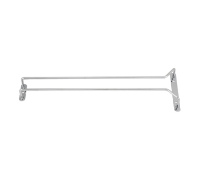 Winco GHC-16 16-in Wire Glass Hanger, Chrome Plated