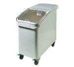 Winco IB-27 27-ga Ingredient Bin w/ Clear Plastic Cover, Clasp Sliding Lid & Scoop, White