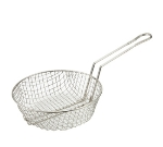"Winco MSB-12 12"" Culinary Basket, Coarse Mesh"