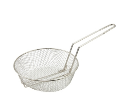 "Winco MSB-10M 10"" Culinary Basket, Medium Mesh"