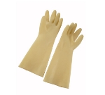"Winco NLG-816 Natural Latex Gloves, 8.5 x 16"", Ivory"