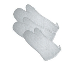 "Winco OMT-17 17"" Terry Cloth Oven Mitt, Protects up to 600 F"