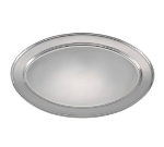 "Winco OPL-20 Oval Platter, 20 x 13.75"", Heavy Stainless Steel"