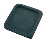 Winco PECC24 Container Cover for 2 & 4-qt Square Storage Containers, Polyethylene, Green