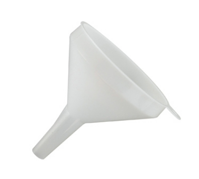 Winco PF-8 8-oz Plastic Funnel, 4-in Diameter