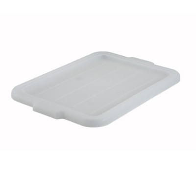 Winco PL-57W Dish Cover Box, White