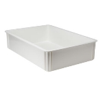 "Winco PL-6 Multi-Stacking Pizza Dough Box, 18.5 x 26 x 6"", Polypropylene, White"
