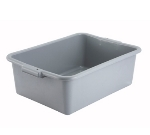 Winco PL-7G 7-in Plastic Dish Box, Grey