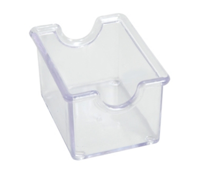 Winco PPH-1C Plastic Sugar Packet Holder, Clear