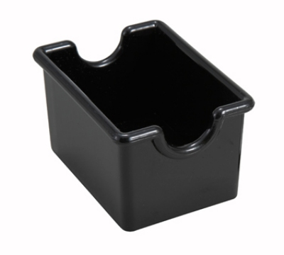 Winco PPH-1K Plastic Sugar Packet Holder, Black