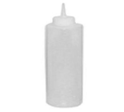 Winco PSB-24C 24-oz Plastic Squeeze Bottle, Clear
