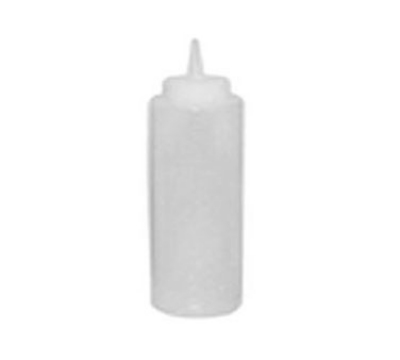 Winco PSB-08C 8-oz Plastic Squeeze Bottle, Clear
