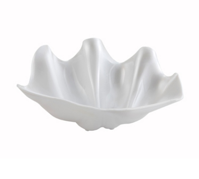 Winco PSBW-1W 16-oz Plastic Shell Bowl, Pearl