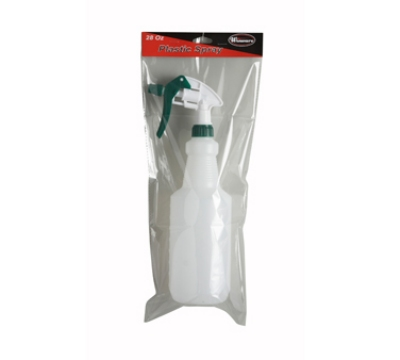 Winco PSR-9 28-oz Plastic Spray Bottle
