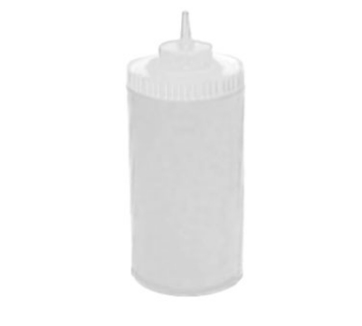 Winco PSW-32 32-oz Plastic Squeeze Bottle, Wide Mouth, Clear
