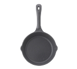 "Winco RSK-6 6.5"" Cast Iron Skillet"