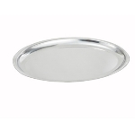 Winco SIZ-11 11-in Oval Sizzling Platter, Stainless