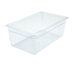 "Winco SP7108 Full-Size Food Pan, 8"" Deep, Break Resistant Polycarbonate"