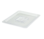 Winco SP7200S 1/2-Size Solid Food Pan Cover, Polycarbonate