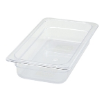 Winco SP7302 1/3-Size Food Pan, 2.5-in Deep, Break Resistant Polycarbonate
