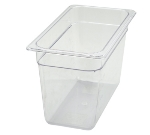 "Winco SP7308 1/3-Size Food Pan, 8"" Deep, Break Resistant Polycarbonate"
