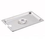 Winco SPCQ Fourth-Size Steam Pan Cover, Stainless