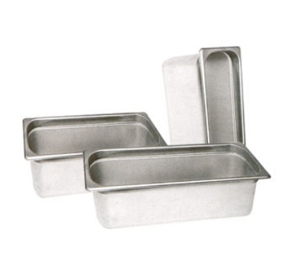 Winco SPH2-HD Half-Sized Steam Pan, Stainless