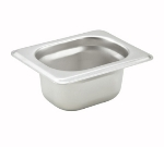 Winco SPJH-1802 1/18-Size Steam Table Food Pan, Anti-Jamming, 2-in Deep, Stainless