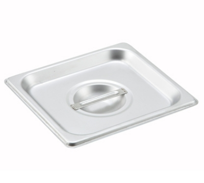 Winco SPSCS Sixth-Size Steam Pan Cover, Stainless