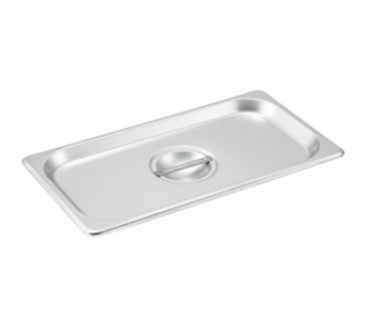 Winco SPSCT Third-Size Steam Pan Cover, Stainless