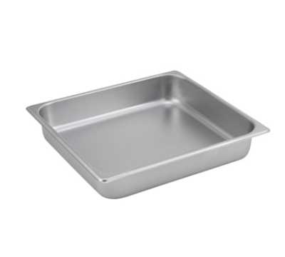 Winco SPTT2 Two-Third Size Steam Pan, Stainless