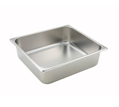 Winco SPTT4 Two-Third Size Steam Pan, Stainless