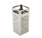"Winco SQG4 Box Grater - 9x4""  Stainless"