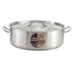 Winco SSLB-20 20-qt Brazier w/ Cover, Stainless