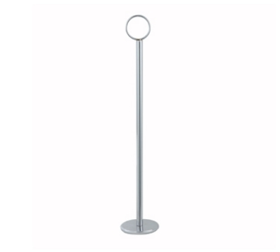 Winco TBH-15 15-in Table Number Holder, Stainless