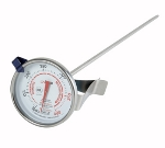 Winco TMT-CDF3 Dial Type Candy Deep Fry Thermometer w/ 100 to 400-Temperature Range