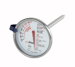 Winco TMT-MT2 Dial Type Meat Thermometer w/ Stem, 130 to 190-Temperature Range, 2-in