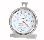 Winco TMT-RF3 Refrigerator Freezer Thermometer, Dial Type, 20 to 70-Temperature Range, 3-in