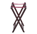 Winco TR-34W 32-in Tray Stand, Mahogany