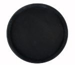 Winco TRH-11K 11-in Round Easy Hold Tray, Black