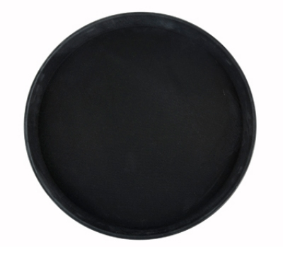 Winco TRH-14K Rectangular Easy Hold Tray, 14 x 18-in, Black