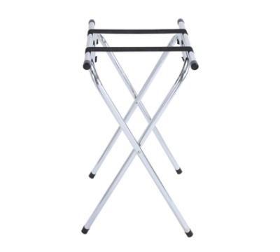 Winco TSY-1A 31-in Tray Stand w/ Bar, Chrome