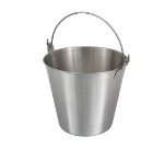 Winco UP-13 13-qt Utility Pail, Stainless