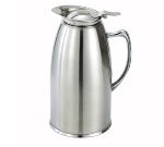 Winco VSS-508 20-oz Beverage Server w/ Satin Finish, Stainless Steel Lined