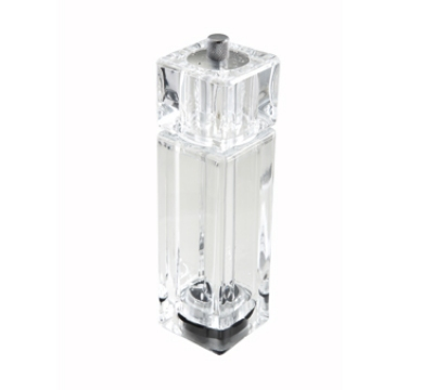 Winco WPMP-6 6-in Pepper Mill, Clear Acrylic, Salt & Pepper